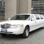 Limousine lincoln Bianca